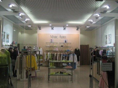 Освещение в дизайне магазина